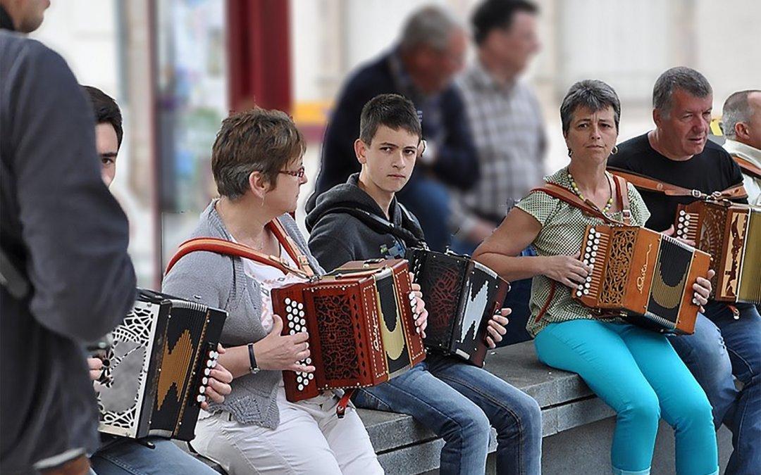 Ensemble d'accordéons