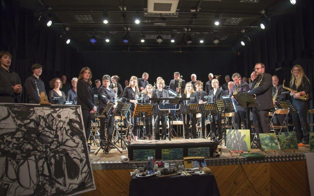 Concert de l'orchestre d'harmonie de la ville de Luzy