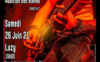 Audition musicale – Luzy – 26 juin 2021