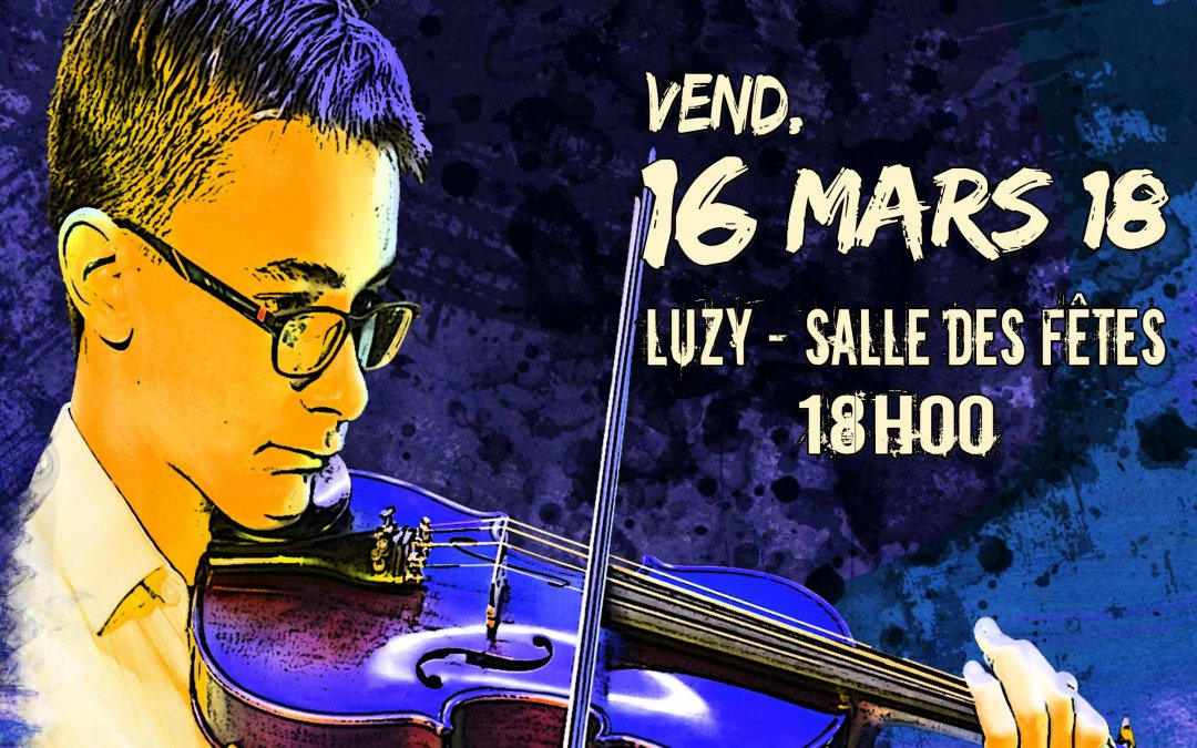 Audition musicale – Luzy – 16 mars 2018