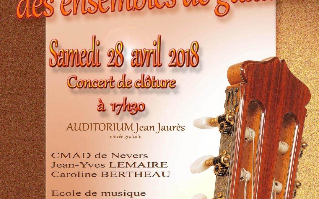 Journée départementale des ensembles de guitares