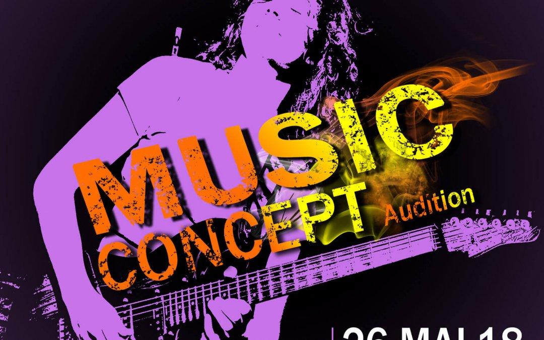 Projet «Music Concept»