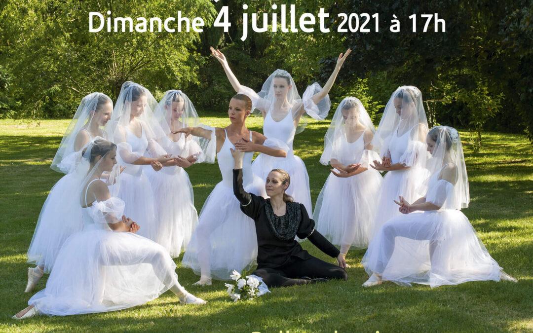 Récital de danse – 3/4 juillet 2021