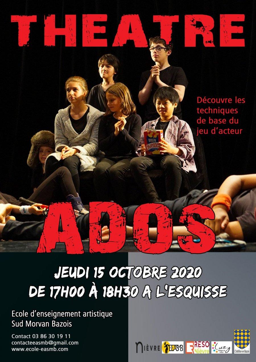 Théâtre ados Luzy