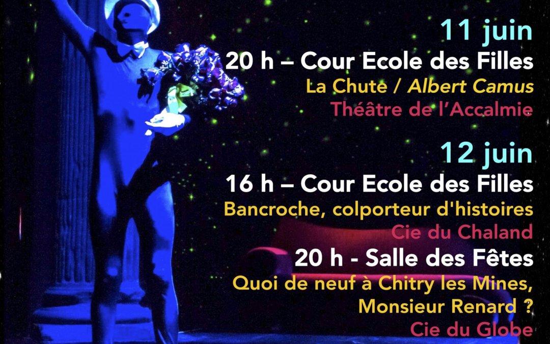 Théâtre – Nuits de printemps – Luzy